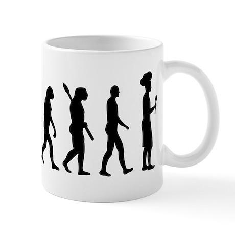 Evolution cook chef Mug
