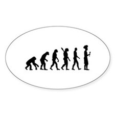 Evolution cook chef Decal