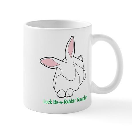 White Rabbit - Lucky-Be-A-Rabbit Mug