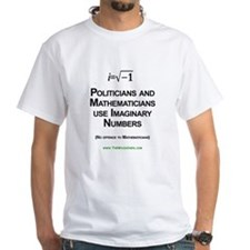 Politicians and Imaginary Numbers Shirt