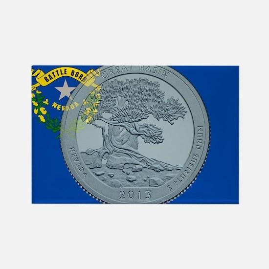 Nevada Quarter 2013 Magnets