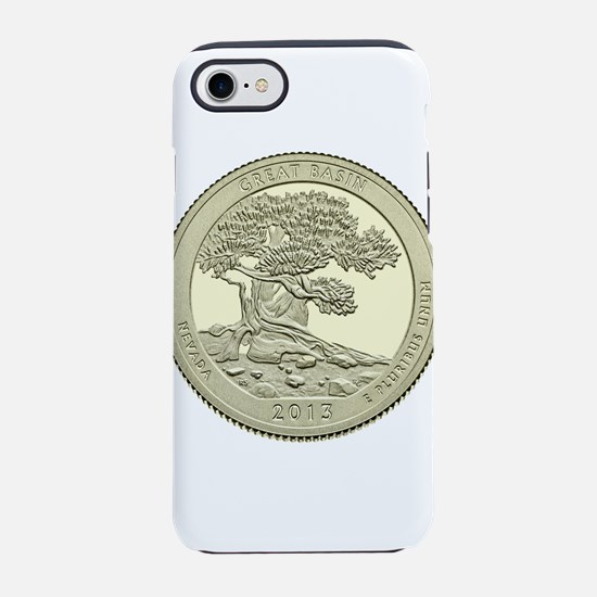 Nevada Quarter 2013 Basic iPhone 7 Tough Case