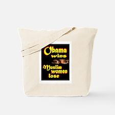 muslim women Tote Bag