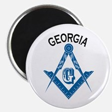 Georgia Freemason Magnet