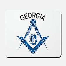Georgia Freemason Mousepad