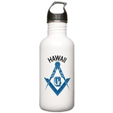 Hawaii Freemason Water Bottle
