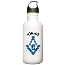 Idaho Freemason Water Bottle