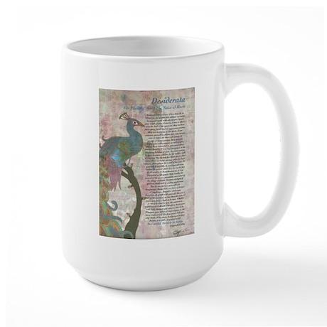 The Desiderata Poem by Max Ehrmann Large Mug