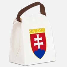 Slovakia COA 1.png Canvas Lunch Bag
