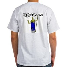 Athena Ash Grey T-Shirt