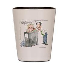 Ann Romneys Binder Shot Glass