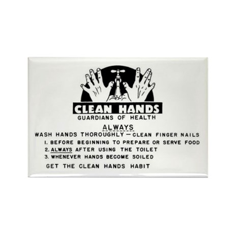 Clean Hands Magnet