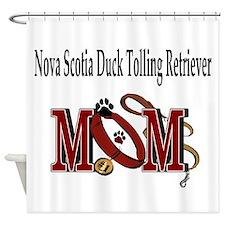Nova Scotia Duck Toller Shower Curtain