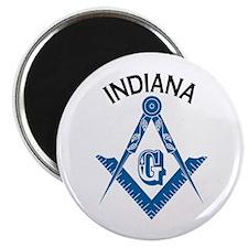 Indiana Freemason Magnet