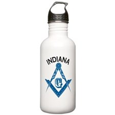 Indiana Freemason Water Bottle