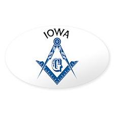 Iowa Freemason Stickers