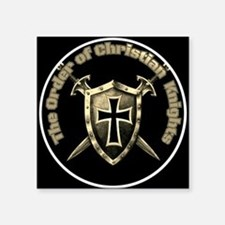 The Order of Christian Knights (Official Logo) Squ