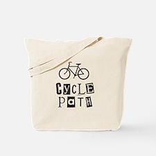 Cycle Path Tote Bag