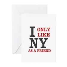 New York Friend Greeting Cards (Pk of 20)