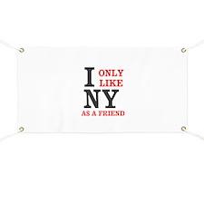 New York Friend Banner