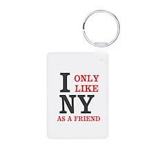 New York Friend Keychains