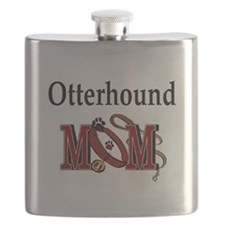 Otterhound Mom Flask