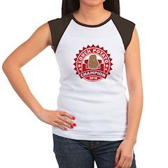 Couch Potato Champion Women's Cap Sleeve T-Shirt