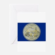 Nebraska Quarter 2006 Greeting Cards