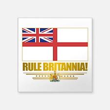"""Rule Britannia.png Square Sticker 3"""" x 3"""""""