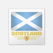 "Scotland (Flag 10).png Square Sticker 3"" x 3"""