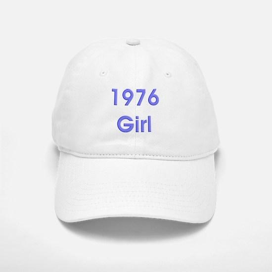 1976 Girl Bold Baseball Baseball Cap