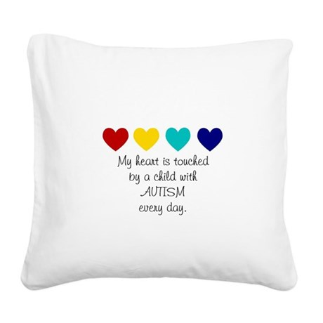 My Heart... Square Canvas Pillow