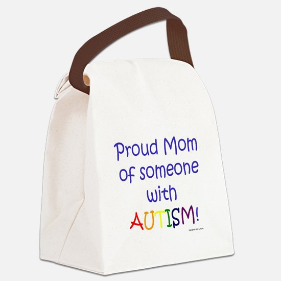 Cute Advocate mom Canvas Lunch Bag