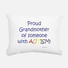 Cute Grandparent autism Rectangular Canvas Pillow