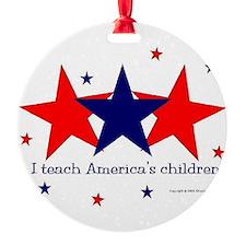 Cute Autism america Ornament