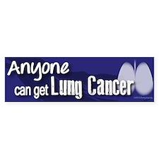Cancer is not always Pink! Bumper Sticker