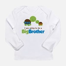 Turtle going to be a Big Brother Long Sleeve T-Shi