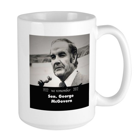 McGovern 1972 Large Mug