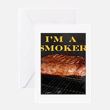 Smoked Ribs Greeting Card