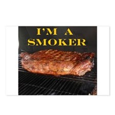 Smoked Ribs Postcards (Package of 8)