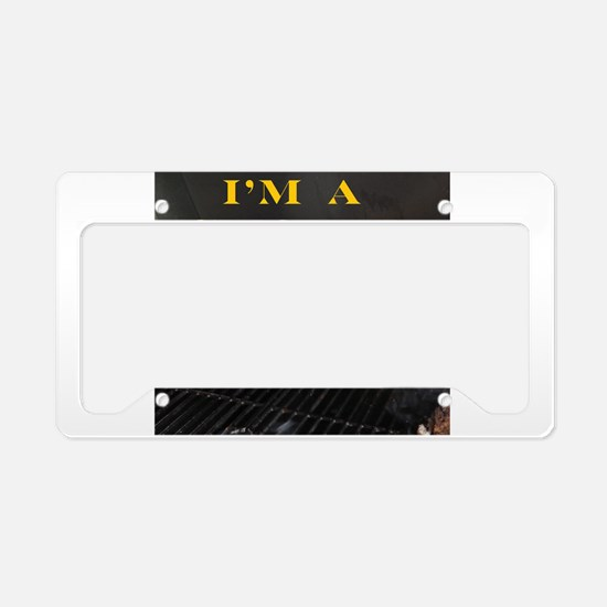 Smoked Ribs License Plate Holder