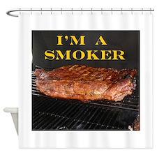 Smoked Ribs Shower Curtain