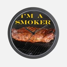 Smoked Ribs Wall Clock