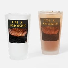 Smoked Ribs Drinking Glass