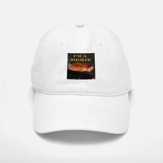 Smoked Ribs Baseball Baseball Cap