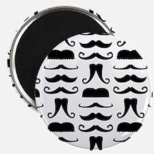 "Mustache Print 2.25"" Magnet (100 pack)"