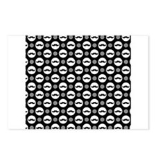 Mustache Polka Dots Postcards (Package of 8)