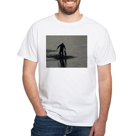Fisherman White T-Shirt