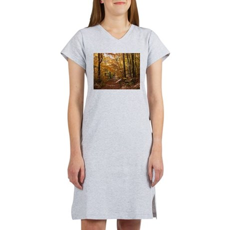 Autumn Trails Women's Nightshirt