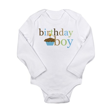 First Birthday! Infant Creeper Body Suit